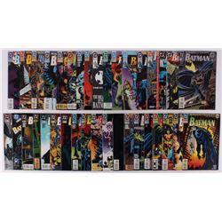 """Lot of (36) 1989-93 """"Batman"""" #0-#526 DC Comic Books"""