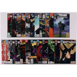 """Lot of (23) 1994-98 """"Batman"""" #512-#555 DC Comic Books"""