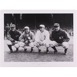 "Historical Photo Archive - Babe Ruth  Lou Gehrig ""Golden Age of Baseball"" Limited Edition 16.5x22 Fi"