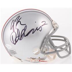 J. K. Dobbins Signed Ohio State Buckeyes Mini-Helmet (JSA COA)