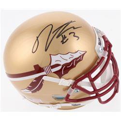 Derwin James Signed Florida State Seminoles Mini-Helmet (JSA COA)