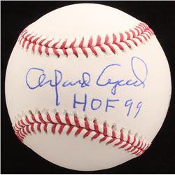 "Orlando Cepeda Signed OML Baseball Inscribed ""HOF 99"" (JSA COA)"