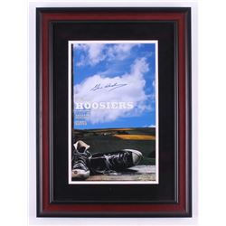 "Gene Hackman Signed ""Hoosiers"" 17x23 Custom Framed Photo Display (Steiner COA)"