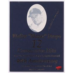 "Walt Dropo Twice-Signed ""40th Anniversary"" Commemorative Booklet (JSA LOA)"