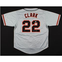 "Will Clark Signed San Francisco Giants ""Will The Thrill"" Jersey (JSA COA)"