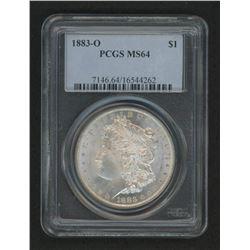 1883-O Morgan Silver Dollar (PCGS MS62)