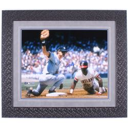 Don Mattingly Signed New York Yankees 24x28 Custom Framed Photo Display (Steiner Hologram)