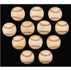 Lot of (12) Rawlings ONL Baseballs