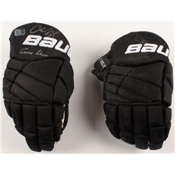 Chris Kelly Signed Pair of Game-Used Hockey Gloves (Kelly COA)