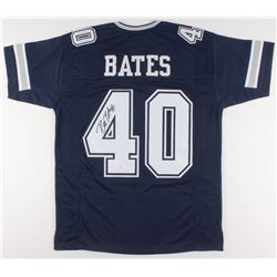 Bill Bates Signed Dallas Cowboys Jersey (JSA COA)