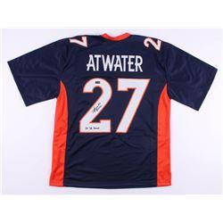 """Steve Atwater Signed Denver Broncos Jersey Inscribed """"2x SB Champs"""" (Radtke COA)"""
