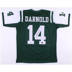 Sam Darnold Signed New York Jets Jersey (Radke COA)