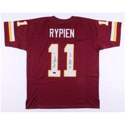 "Mark Rypien Signed Washington Redskins Jersey Inscribed ""SB XXVI MVP"" (Radtke COA)"