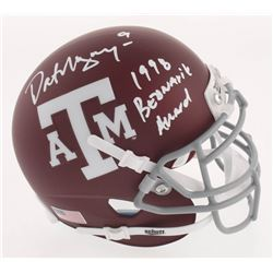 "Dat Nguyen Signed Texas AM Aggies Matte Maroon Mini Helmet Inscribed ""1998 Bednarik Award"" (Beckett"