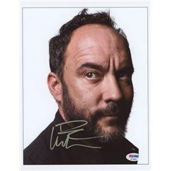 Dave Matthews Signed 8.5x11 Photo (PSA Hologram)