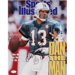 "Dan Marino Signed Miami Dolphins ""Sports Illustrated Magazine Cover"" 11x14 Photo (JSA COA)"