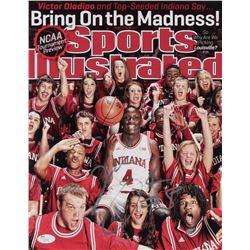 "Victor Oladipo Signed Indiana Hoosiers ""Sports Illustrated Magazine Cover"" 11x14 Photo (JSA COA)"