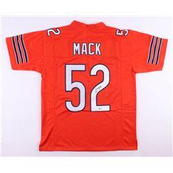 Khalil Mack Signed Chicago Bears Jersey (Beckett COA)