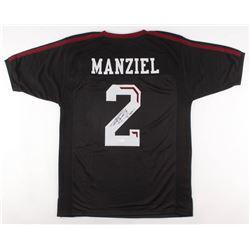 "Johnny Manziel Signed Texas AM Aggies Jersey Inscribed ""12 Heisman"" (JSA COA)"