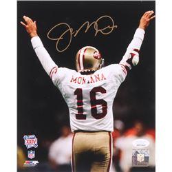 Joe Montana Signed San Fransisco 49ers 8x10 Photo (JSA COA)