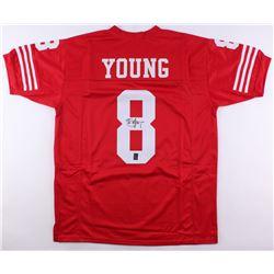 Steve Young Signed San Francisco 49ers Jersey (JSA COA  Young Hologram)