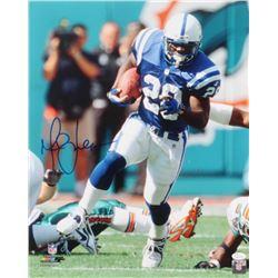 Marshall Faulk Signed Indianapolis Colts 16x20 Photo (JSA COA)