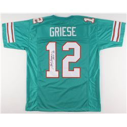 """Bob Griese Signed Miami Dolphins Jersey Inscribed """"HOF '90"""" (JSA COA)"""