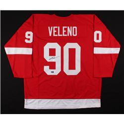 Joe Veleno Signed Detroit Red Wings Jersey (Veleno Hologram)