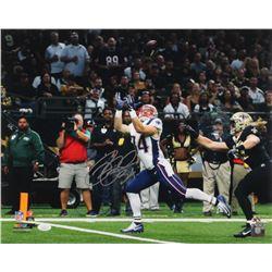 Rex Burkhead Signed New England Patriots 16x20 Photo (JSA COA  Sure Shot Promotions Hologram)