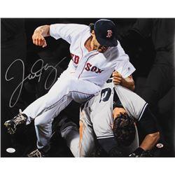 Joe Kelly Signed Boston Red Sox 16x20 Photo (JSA COA  Sure Shot Promotions Hologram)