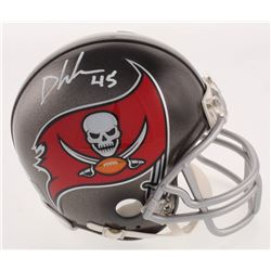 Devin White Signed Tampa Bay Buccaneers Mini Helmet (Beckett COA)