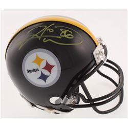 Hines Ward Signed Pittsburgh Steelers Mini Helmet (Beckett COA)