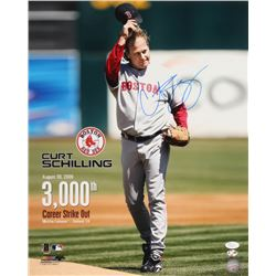 Curt Schilling Signed Boston Red Sox 16x20 Photo (JSA COA  Sure Shot Promotions Hologram)