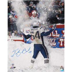 Tedy Bruschi Signed New England Patriots 16x20 Photo (JSA COA  Sure Shot Promotions Hologram)