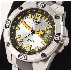 Weil  Harburg Leade Men's Swiss GMT Watch