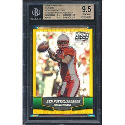 2004 Topps Draft Picks and Prospects Gold Chrome #165 Ben Roethlisberger (BGS 9.5)
