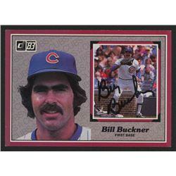 Bill Buckner Signed 1983 Donruss Action All-Stars #7 (JSA COA  Play Ball COA)