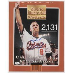 "Cal Ripken Jr. Signed Baltimore Orioles Inscribed ""My Best"" 11x14 Photo (JSA COA)"