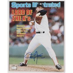 Roger Clemens Signed Boston Red Sox 11x14 Photo (JSA COA)