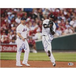 David Wright  Hanley Ramirez Signed 11x14 Photo (Beckett COA)