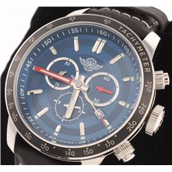 Zentler Freres Oracle Men's Swiss Chronograph Watch