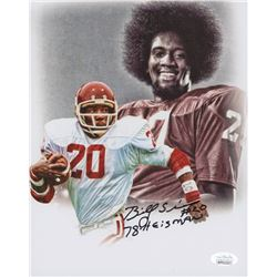 "Billy Sims Signed Oklahoma Sooners 8x10 Photo Inscribed ""78 Heisman"" (JSA COA)"