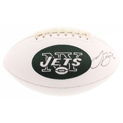 Le'Veon Bell Signed New York Jets Logo Football (PSA COA)