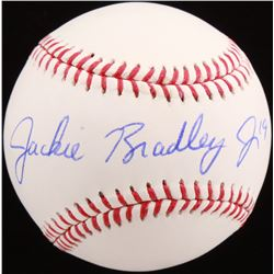 Jackie Bradley Jr. Signed OML Baseball (MLB Hologram)