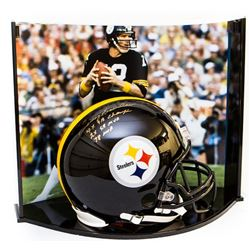 "Terry Bradshaw Signed LE Pittsburgh Steelers Full-Size Authentic On-Field Helmet Inscribed ""4x SB Ch"