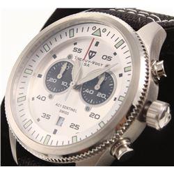 Tschuy-Vogt SA AC1 Sentinel Men's Swiss Chronograph Watch