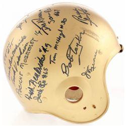 Irish Legends Notre Dame Fighting Irish Full-Size Helmet Signed by (27) with Johnny Lattner, Ralph G