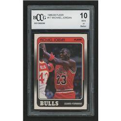 1988-89 Fleer #17 Michael Jordan (BCCG 10)