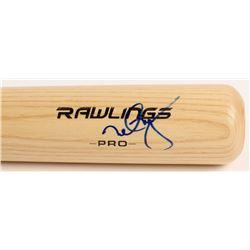 Mark McGwire Signed Rawlings Pro Baseball Bat (PSA COA)