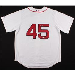 "Pedro Martinez Signed Boston Red Sox Jersey Inscribed ""04 WS Champs"" (JSA COA)"